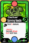 Cactuar Spinning Needle