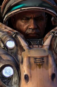 Horace Warfield SC2 Head1