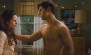 New Moon Bella&#39;s Bedroom scene Jacob Black