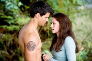 Bella jacob new moon ending scene
