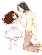 Jacob and Renesmee Colour by DaiskiAnimeJ