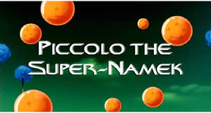 Piccolo The Super Namek