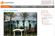 Alaris carefusion screenshot