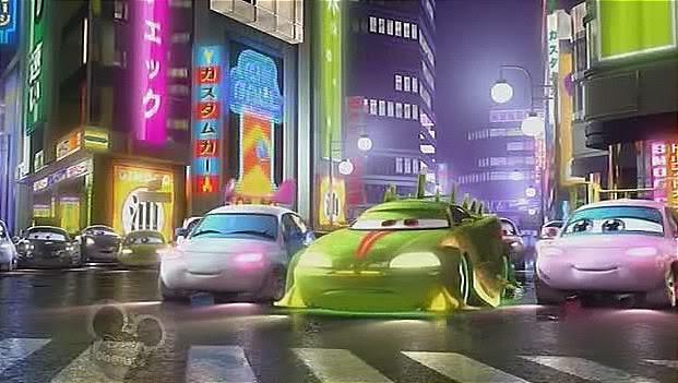 KOMODO Toon Tokyo Mater Mattel Disney Pixar