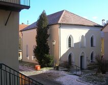 Trebic zamosti front synagogue