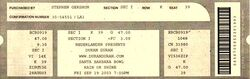 Ticket duran duran santa barbara bowl 19 september 2003