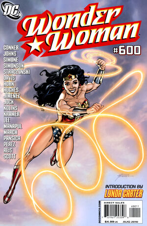 Cover for Wonder Woman #600 (2010)