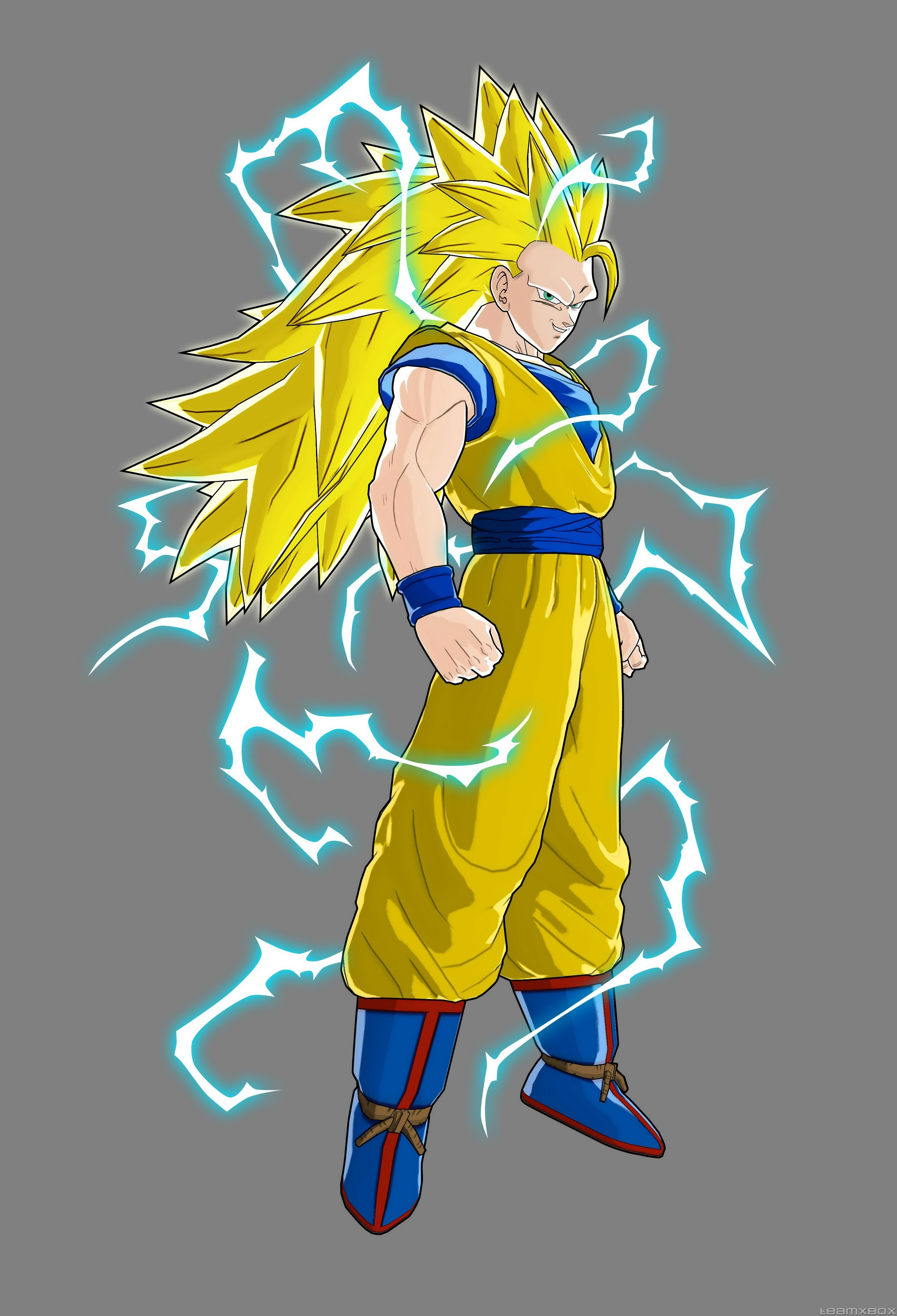 Image   Goku Super Saiyan 3 Raging Bals     Dragon Ball Wiki