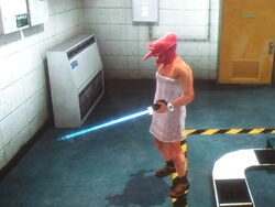 Dead rising laser sword and ghoul
