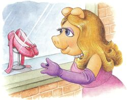 Piggy and the pink tap shoes
