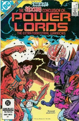 Cover for Power Lords #3