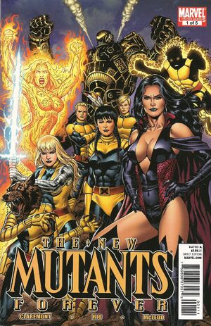 New Mutants Forever Vol 1 1