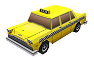 Cabbie Papercraft