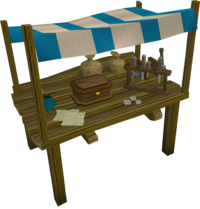 Urist's Crafting Supplies stall