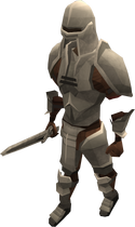 Animated iron warrior