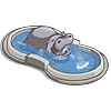 Hippo Fountain-icon