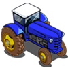Blue Tractor-icon