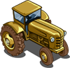 Gold Tractor-icon