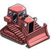 Pink Bulldozer-icon