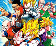 Dragon ball z up date story1