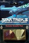 FASA 2521 RPG miniature Romulan Graceful Flyerr 1984