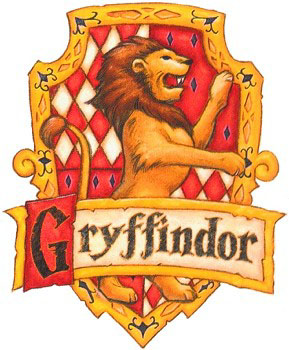 Gryffindor Flag Colouring Pages page 2