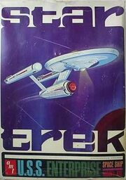 AMT Model kit S921 USS Enterprise 1966