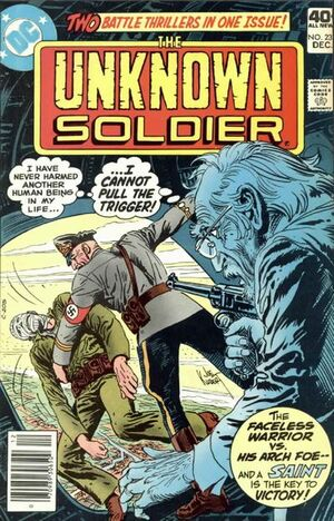 Cover for Unknown Soldier #234