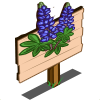 Lupine Mastery Sign-icon
