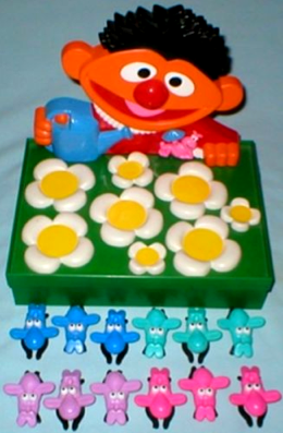 Ernies twiddley winks game lewco 1988