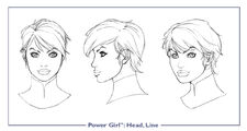 PowerGirl head line