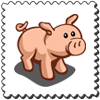 Pig Stamp-icon