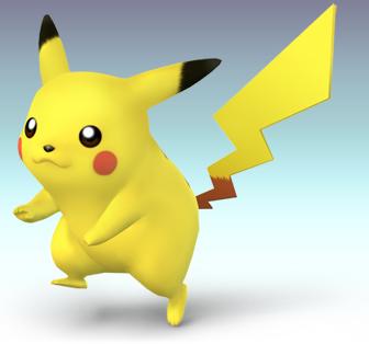 Super Smash Bros 3DS/Wii U Pikachu_SSBB