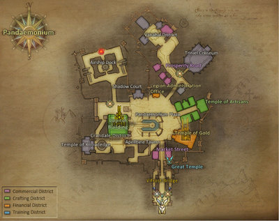 Pandaemonium map
