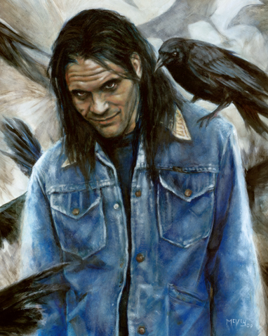 Randall Flagg, from Stephen Kings THE STAND and THE DARK TOWER series