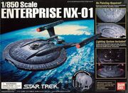 Bandai Model kit 122721 Enterprise NX-01 2003