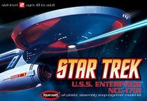 Polar Lights Model kit POL803 USS Enterprise 2008