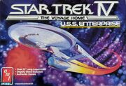 AMT Model kit 6693 USS Enterprise 1987
