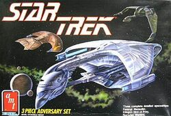 AMT Model kit 6858 3-piece adversary set 1989