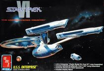 AMT Model kit 8617 USS Enterprise 1992
