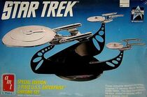 AMT Model kit 6005 3-piece USS Enterprise Chrome Set 1991