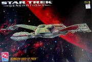 AMT Model kit 8230 Klingon Bird of Prey 1995
