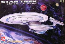 AMT Model kit 8762 USS Enterprise-B 1995