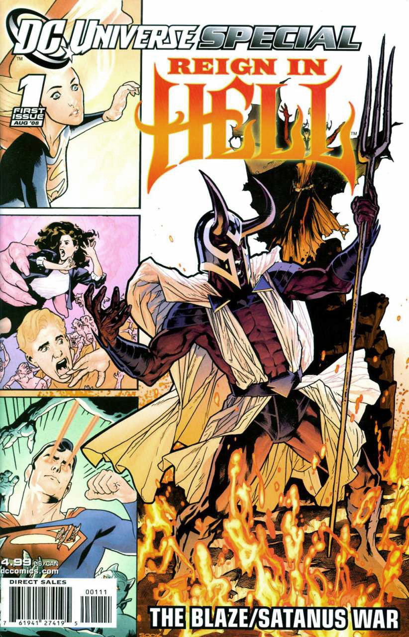 Cover for Reign in Hell #1