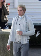 Peter Facinelli-behind the scenes
