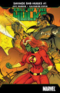 Fall of the Hulks The Savage She-Hulks Vol 1 1