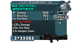 RWL720 Steel Undertaker
