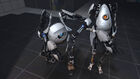 Portal2 robots elbowing