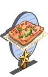 Pizza Bread 1 Star Mastery Sign-icon