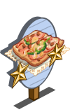 Pizza Bread 2 Star Mastery Sign-icon